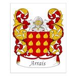 Arrais Family Crest Small Poster