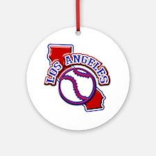 Los Angeles Ornament (Round)