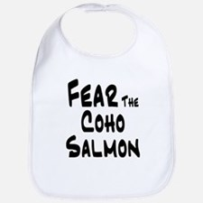 Fear the Coho Salmon Bib