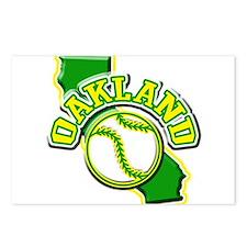 Oakland Baseball Postcards (Package of 8)