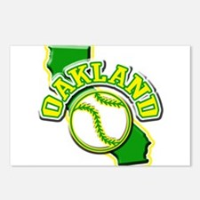 Oakland Baseball Postcards (Package of 8)
