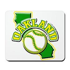 Oakland Baseball Mousepad