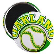 Oakland Baseball Magnet