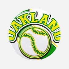 """Oakland Baseball 3.5"""" Button"""