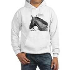 Funny Thoroughbred horse Hoodie