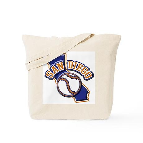 San Diego Baseball Tote Bag