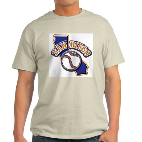 San Diego Baseball Light T-Shirt