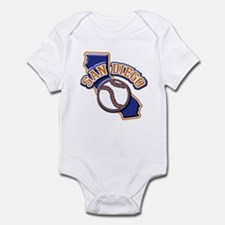 San Diego Baseball Infant Bodysuit