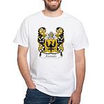 Azevedo Family Crest White T-Shirt