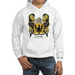 Azevedo Family Crest Hooded Sweatshirt