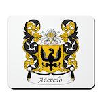 Azevedo Family Crest Mousepad