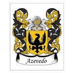 Azevedo Family Crest Small Poster