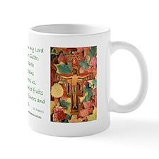 Saint Francis Leaves Mug