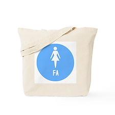 Cute Air hostess Tote Bag