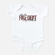 My Son My Hero - Fire Dept Infant Bodysuit