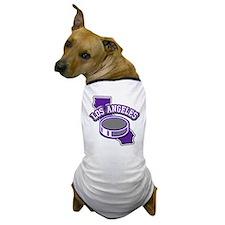 Los Angeles Hockey Dog T-Shirt