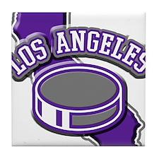 Los Angeles Hockey Tile Coaster