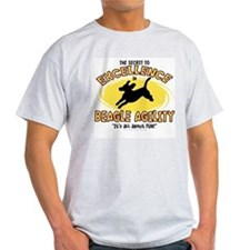 The Secret to Beagle Agility T-Shirt