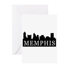 Memphis Skyline Greeting Cards (Pk of 20)