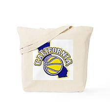 California Basketball Tote Bag