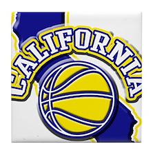 California Basketball Tile Coaster