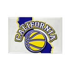 California Basketball Rectangle Magnet (100 pack)