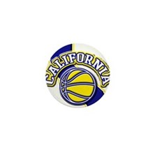California Basketball Mini Button