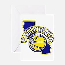 California Basketball Greeting Card