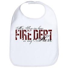 My Son-in-law My Hero - Fire Dept Bib
