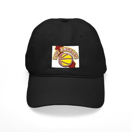 Los Angeles Basketball Black Cap