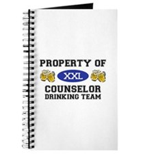 Property of Conselor Drinking Team Journal