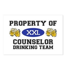 Property of Conselor Drinking Team Postcards (Pack