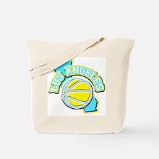 Los Angeles Basketball Tote Bag