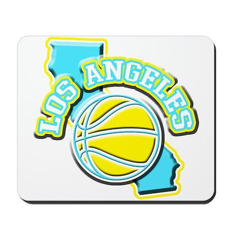 Los Angeles Basketball Mousepad