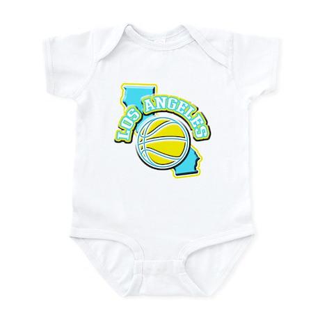 Los Angeles Basketball Infant Bodysuit