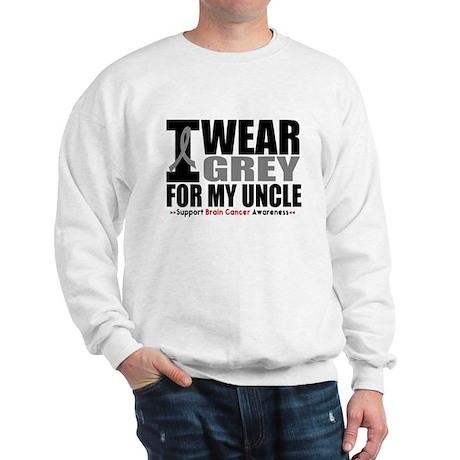 I Wear Grey Uncle Sweatshirt