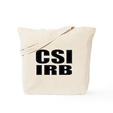 CSI IRB Tote Bag