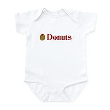 Olive (I Love) Donuts Infant Bodysuit
