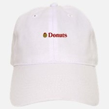 Olive (I Love) Donuts Baseball Baseball Cap