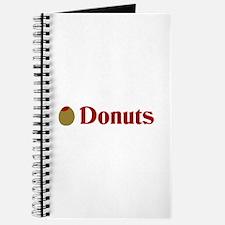 Olive (I Love) Donuts Journal