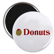 Olive (I Love) Donuts Magnet