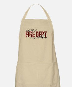 My Uncle My Hero - Fire Dept BBQ Apron
