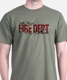 My Uncle My Hero - Fire Dept T-Shirt