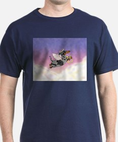 Silver Dapple Dachshund Angel T-Shirt