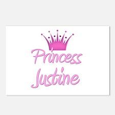 Princess Justine Postcards (Package of 8)