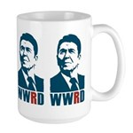 WWRD - What Would Reagan Do? Large Mug