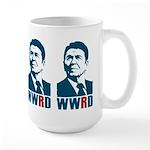 WWRD - What Would Reagan Do? Large Mug