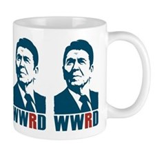 WWRD - What Would Reagan Do? Coffee Small Mug
