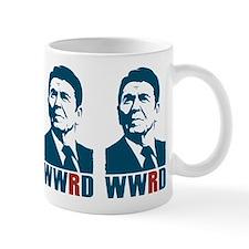 WWRD - What Would Reagan Do? Coffee Small Mug