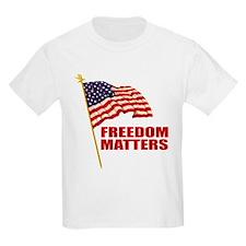 Freedom Matters Kids T-Shirt